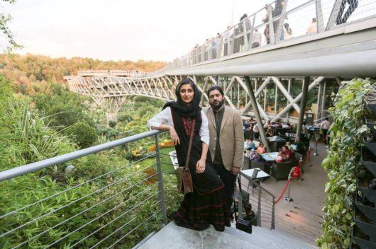 The Tabiat Bridge Designers