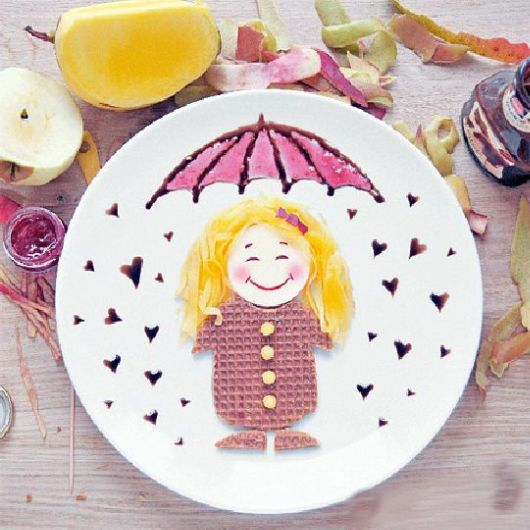 Beautiful And Creative Edible Artworks