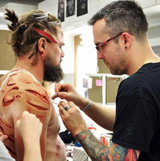 Superstar Leonardo DiCaprio Spends 5 Hours Getting Wounded For A Scene In The Revenant