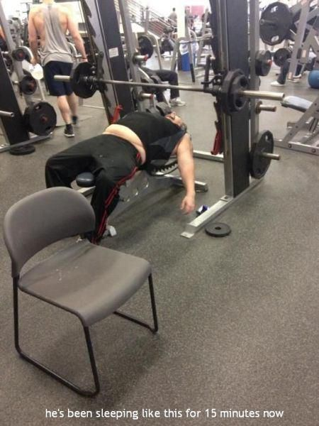 People Who Have No Idea What They Are Doing In The Gym