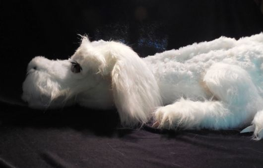 Cute Handmade Falkor Toy From The Neverending Story