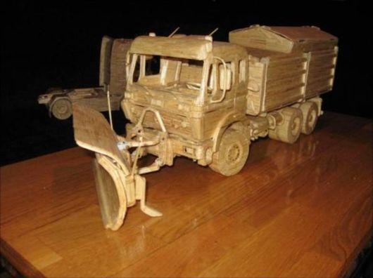 Magnificent Vehicles Made By Matchsticks