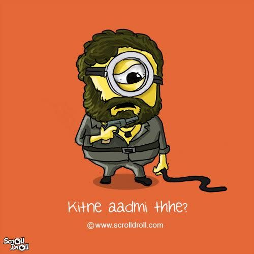 If Minions Played The Roles Of Iconic Bollywood Characters