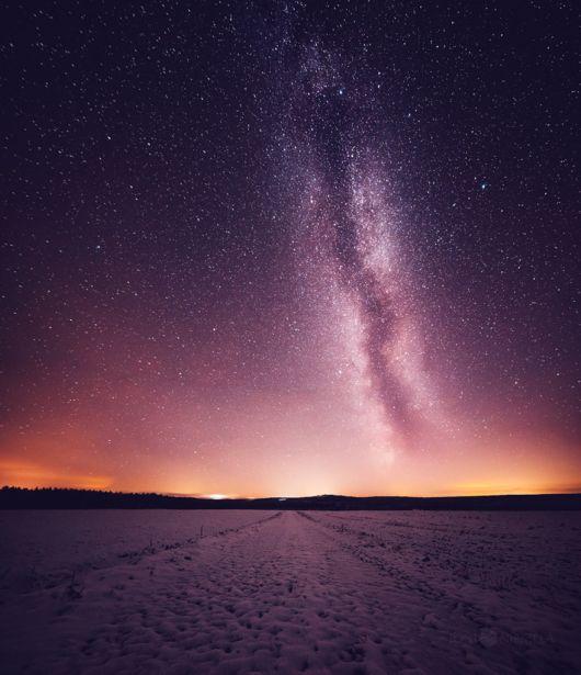 The Finish Night Sky Amazingly Captured