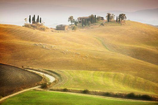 The Scenic Beauty Of Tuscany In Italy