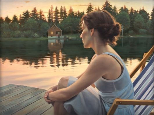 These Paintings Let You Enter A World Of Timeless Beauty