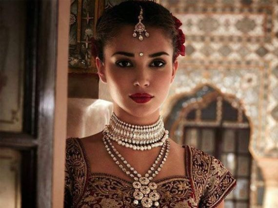 Amy Jackson In Traditional Indian Attire