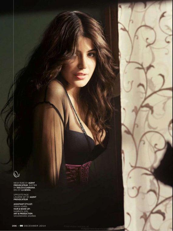 Anushka Sharma GQ Magazine Photoshoot