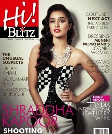 Shraddha Kapoor For Hi Blitz Magazine