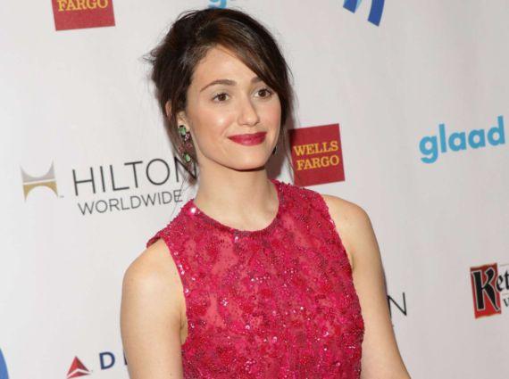 Emmy Rossum Graces GLAAD Media Awards