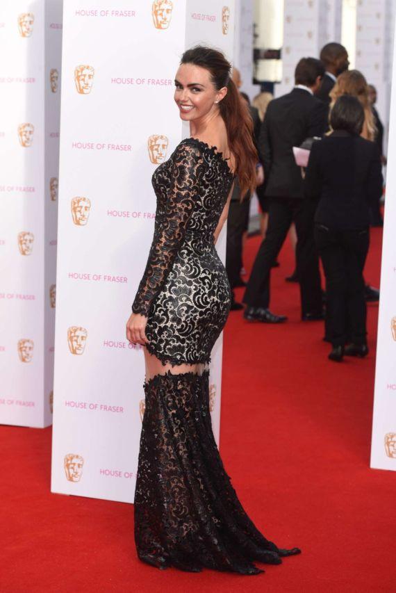Jennifer Metcalfe Attends BAFTA Awards 2015