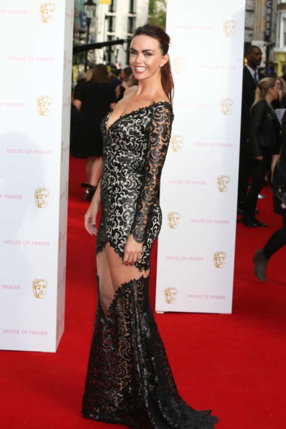 Jennifer Metcalfe Attends BAFTA Awards 2015