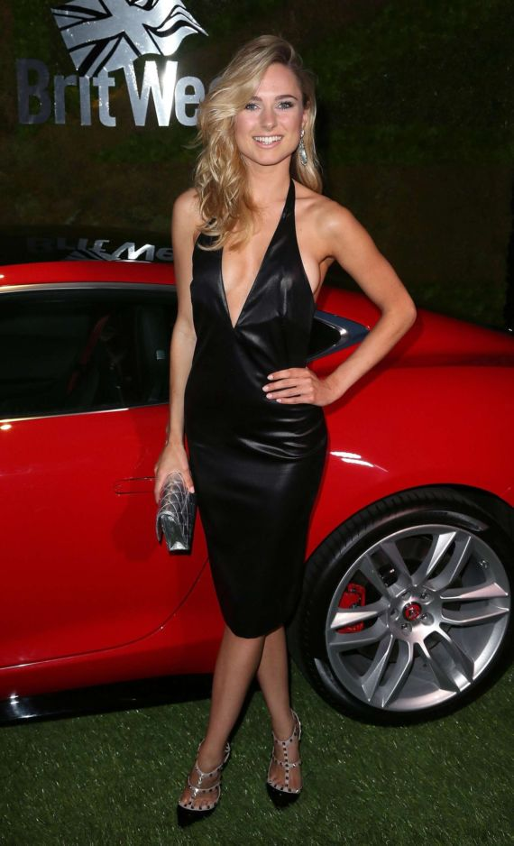 Kimberley Garner At The Jaguar Event