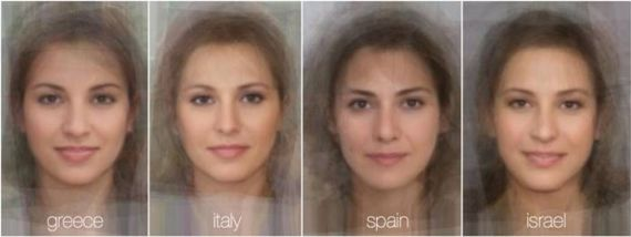 Faces Of Women In The World