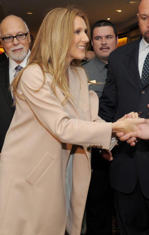 Gorgeous Celine Dion Returns Home