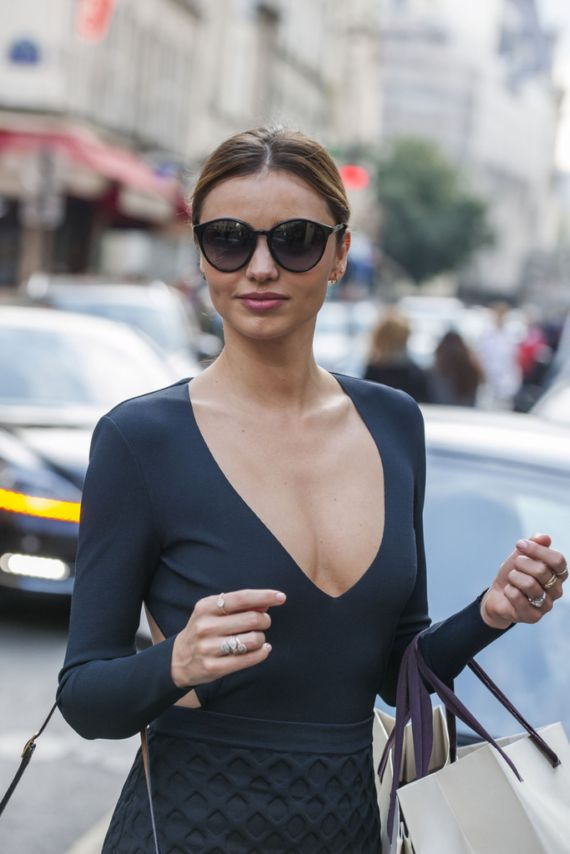 Miranda Kerr Out For Shopping In Paris