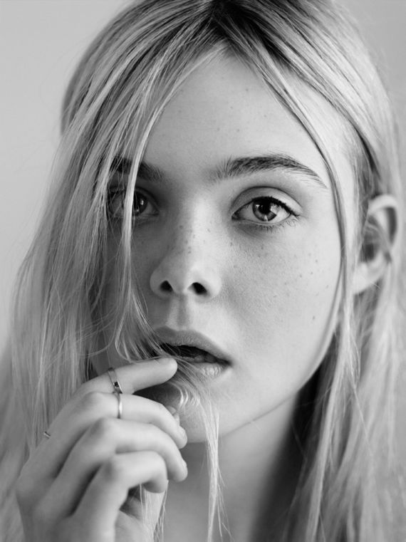 Elle Fanning Shoots For Interview Mag