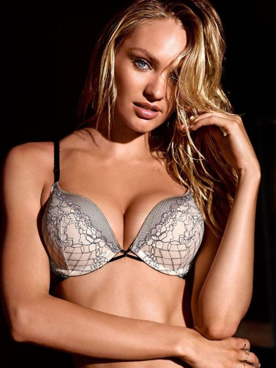 Candice Swanepoel Poses For VS Again