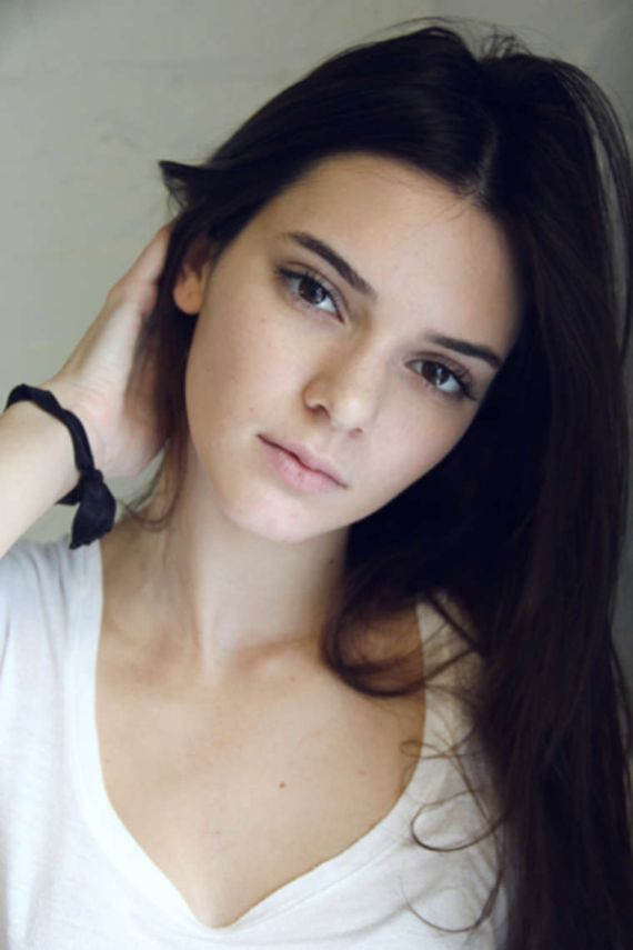 Kendall Jenner For PRODn Go See Photoshoot