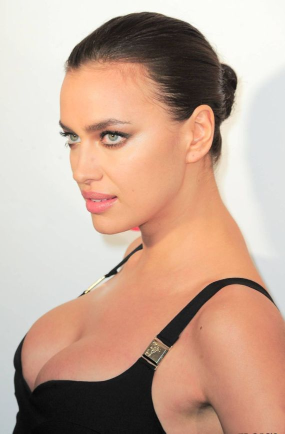 Irina Shayk Attends Sports Illustrated Beach House Party
