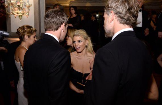 Jessica Simpson At White House Correspondents Party