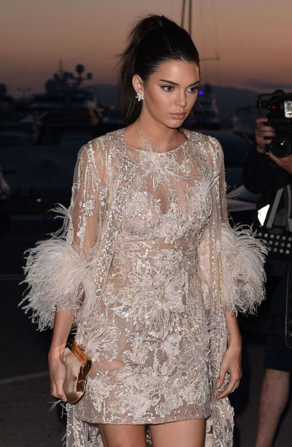 Kendall Jenner Attends Chopard Party At 2016 Cannes Film Festival
