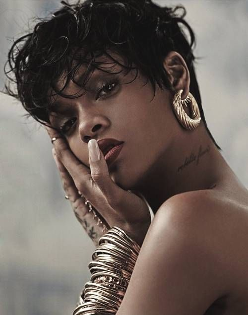 Rihanna Shoots For Vogue Brazil