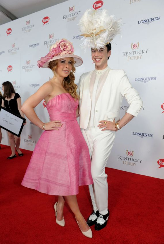 Tara Lipinski At 140th Kentucky Derby