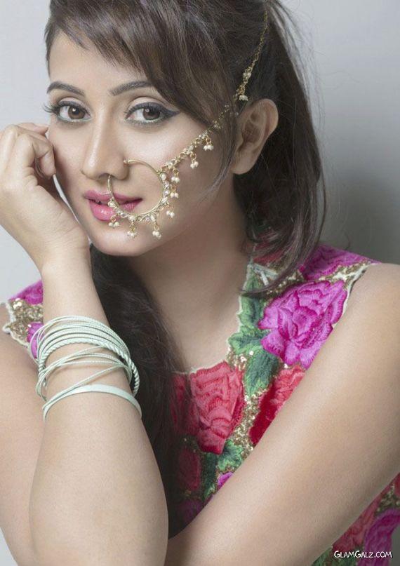 Harshika Poonacha Gorgeous As She Poses For Photographs