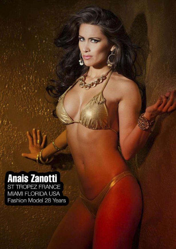 Anais Zanotti Heats Up FWM Magazine