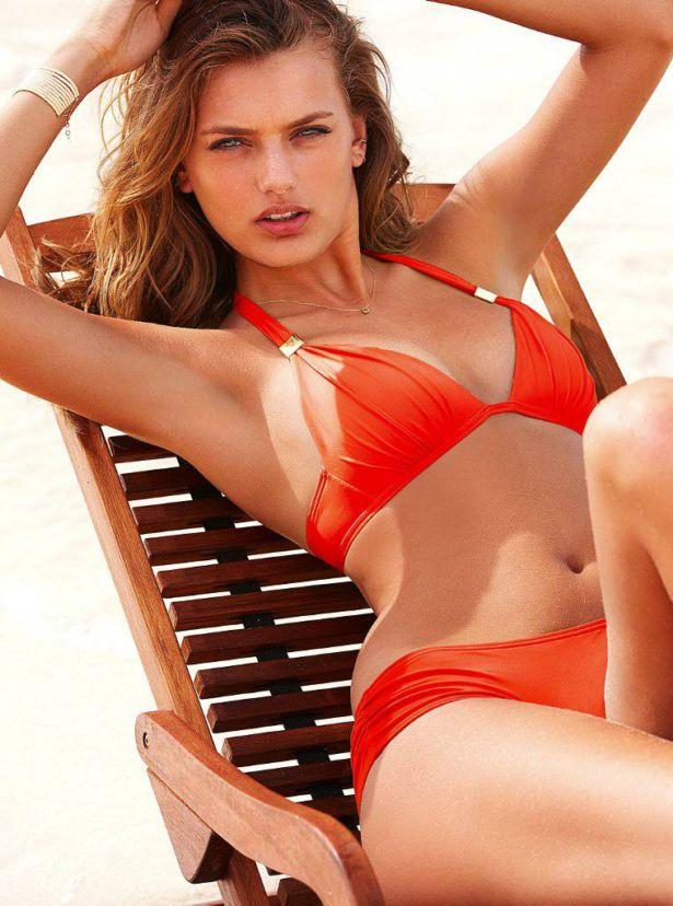 Bregje Heinen For Victorias Secret Photoshoot