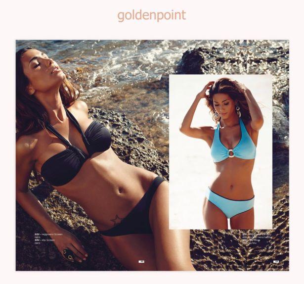 Federica Nargi For Goldenpoint Catalog 2014