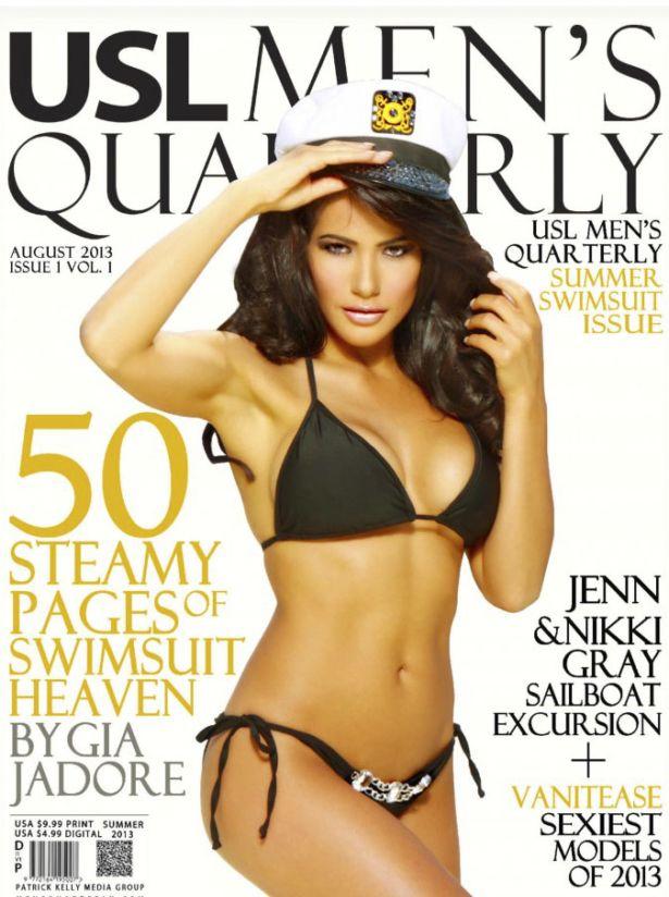Jennifer Radex Shoots For USL Men's Quarterly Magazine
