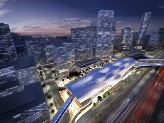 Zaha Hadid's Sleek Metro Station, Saudia Arabia