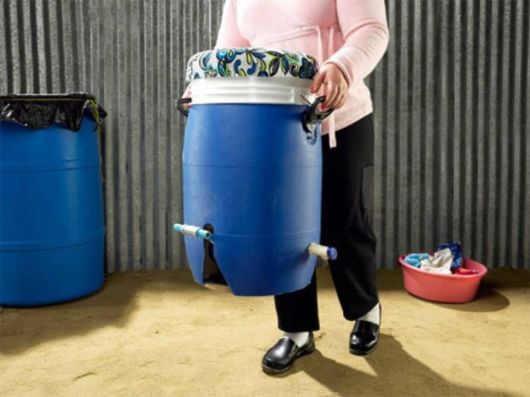 Foot Powered Washing Machine Could Change The World